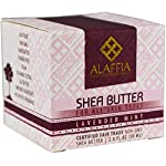 Alaffia Handcrafted Fair Trade Shea Butter 2 oz 13 100% FAIR TRADE: Feel good about how you are getting your products with 100% Certified Fair Trade Ingredients. PROTECT YOUR SKIN WITH A HANDCRAFTED FORMULA: Receive the full moisturizing and protective benefits of its unique fatty acid profile and Vitamins A and E with our traditionally handcrafted, unrefined shea butter. EVERYDAY FOR EVERYONE: Traditional formula suits all skin types.