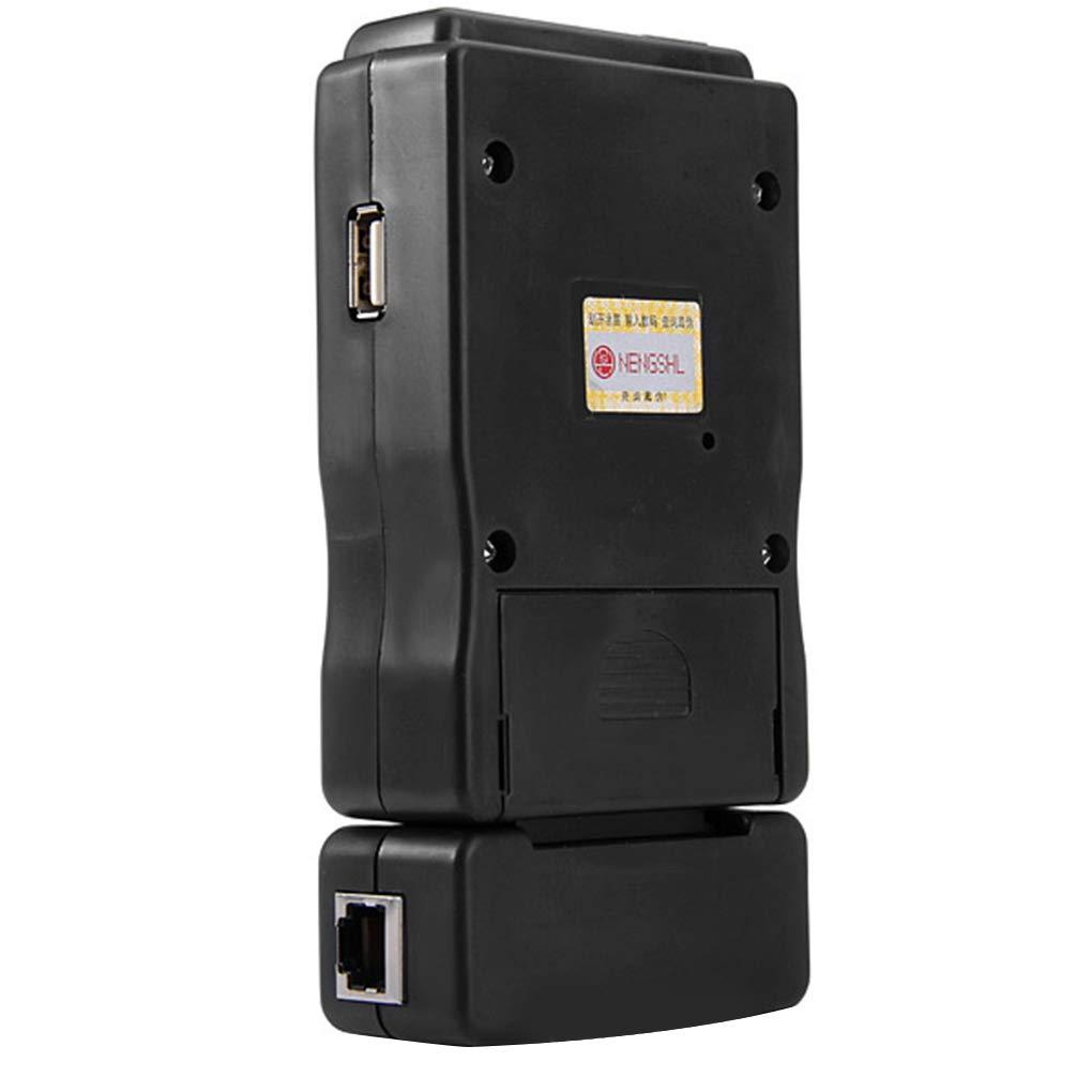 Morelyfish M726AT Kabeltester Multi-Modular Multifunktions-USB RJ45 RJ-11 Draht-LAN-Netzwerk Ethernet-Line-Checker