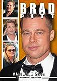 Brad Pitt Calendar - 2015 Wall Calendars - Celebrity Calendars - Monthly Wall Calendar by Dream International