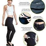 Sport-it Women's Leggings Skirt Black Golf