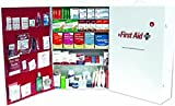 ProStat First Aid 0245B ANSI Z305.12015 Class B Compliant 5-Shelf Type I and II Steel First Aid Kit with Liner - 200+ Person