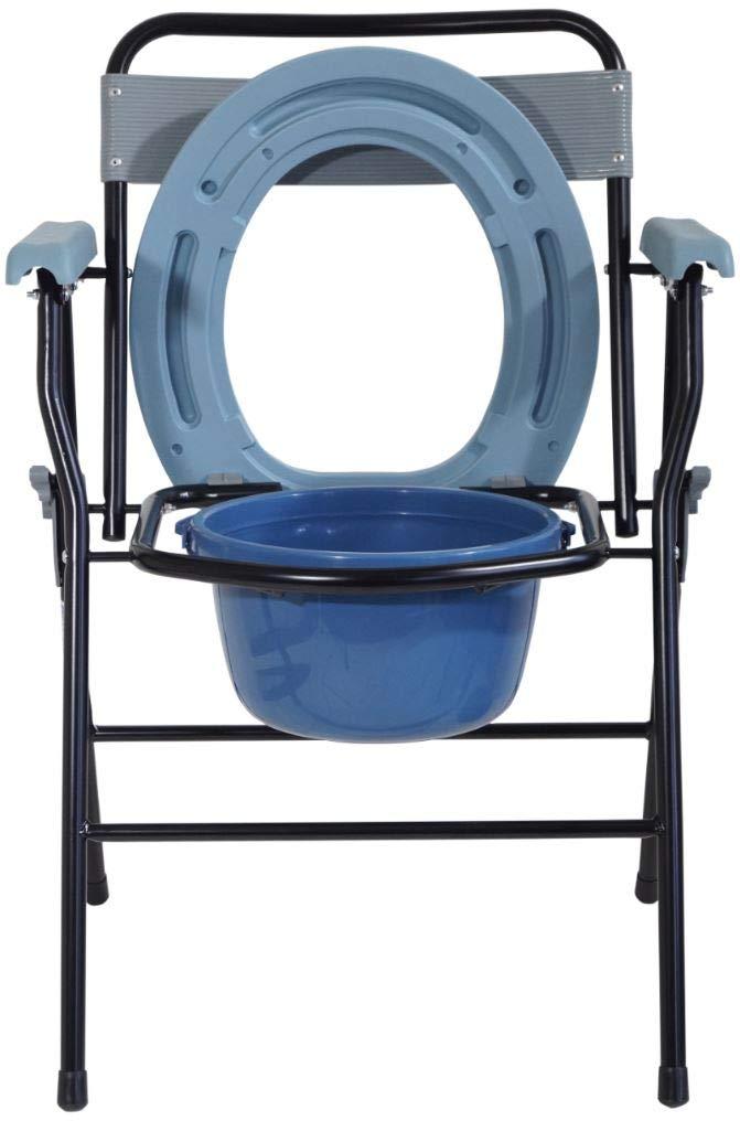 silla plegable con orinal muy ligera