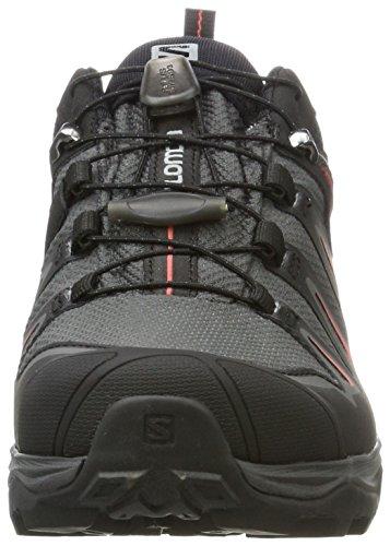 Basses Mineral GTX Femme Magnet Chaussures Multicolore de W Black X Red 3 Randonnée Salomon Ultra ZwAq1gx8