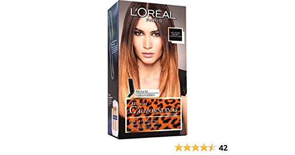 LOreal Paris Preference Mechas Californianas - Tinte, color castaño oscuro, 200 gr