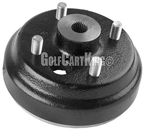 EZGO OEM Brake Drum For Gas & Electric 1982 And Up 2-Cycle Golf Carts - #19186G1