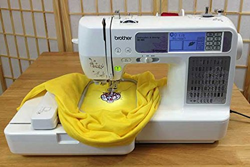 829 VALUE BROTHER SE400 SEWING AND EMBROIDERY appliance with the help of BONUS PACK Sewing Machines