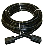 B & S, Craftsman, Generac & Karcher 1/4'' X 50' Pressure Washer Hose - Made in USA