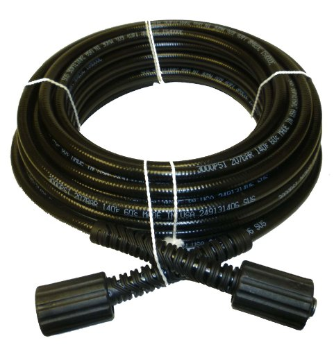 1/4 IN. x 50 FT. Pressure Washer Hose Replacement for B & S, Craftsman, Generac & Karcher