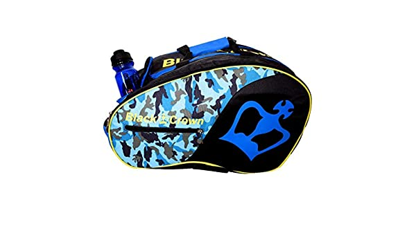 Amazon.com : BLACK CROWN Padel Bag - Military Blue ...