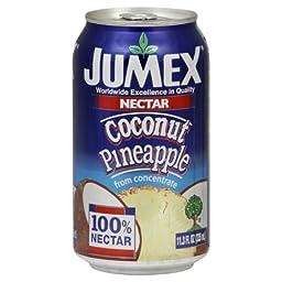 Jumex Coconut Pineapple Juice, 11.3-Ounce (Pack of 24)