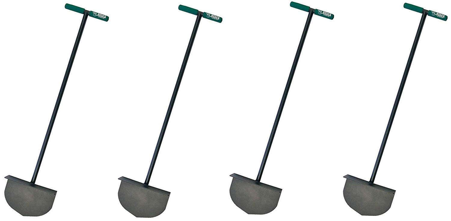 Bully Tools 92251 Round Lawn Edger with Steel T-Style Handle F ur ...