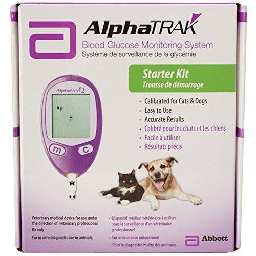 AlphaTRAK Kit de système de surveillance du glucose sanguin 2
