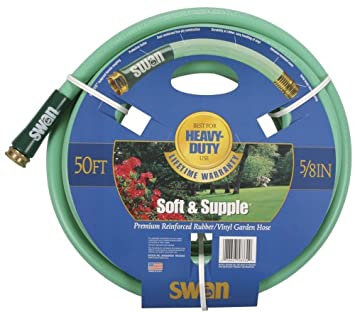 Amazoncom Swan Soft and Supple 58 Inch by 50 Foot Garden Hose