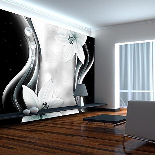 Vlies Fototapete 400x280 cm - 3 Farben zur Auswahl - Top - Tapete - Wandbilder XXL - Wandbild - Bild - Fototapeten - Tapeten - Wandtapete - Wand - Blumen Abstrakt b-A-0246-a-c