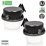 Sunco Lighting 2 Pack Barn Light Dusk To Dawn LED Fixture 35 Watt (260W Equivalent), 5000K Daylight, 4025 Lumens, Yard Floodlight, Outdoor Area Security Lights, Photocell Included - ETL Listed