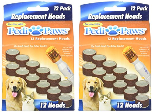 2-Packs-of-12-Pedipaws-Replacement-Filing-Heads