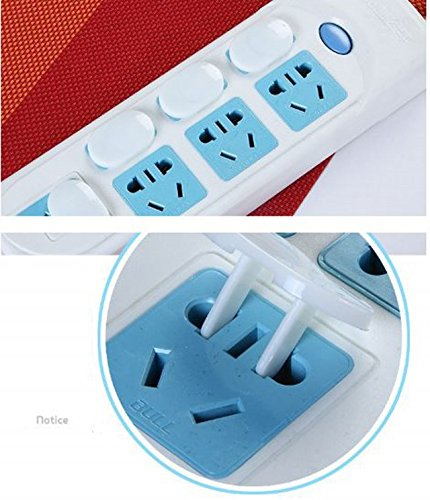 36 Pack Power Socket Outlet Plug Protective Cover for Baby Child Safety Electrical Security Lock Protector
