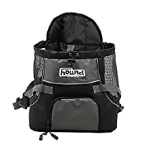 Outward Hound Kyjen 21008 PoochPouch Front Carrier For Dogs Easy-Fit Adjustable Dog Carrier, Medium, Grey