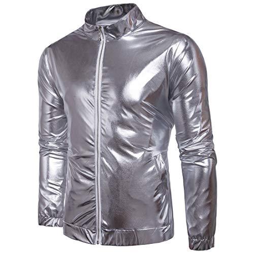 Vestes Vestes Vestes Pour Pour Pour Pour Discothèques Brillants Brillantes Couleur Yaxuan xIS44w