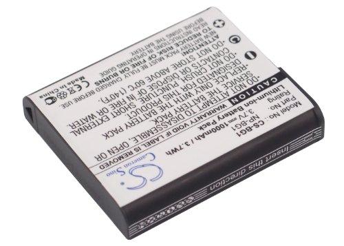 Cameron Sino Rechargeble Battery for Sony Cyber - shot DSC - dsc-w170 / R   B01H542KCY