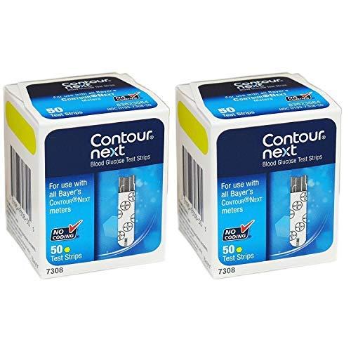 Contour-Next Bayer Blood Glucose Test Strips, 100 Count by Contour-Next