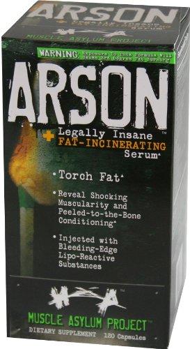 Arson asile Muscle, 120 Capsules à libération rapide