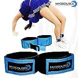 Tumble Pro X Ankle Straps for Cheerleading and Gymnastics Tumble Training