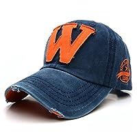Floralby Baseball Caps, Men Women Washed Denim Travel Hiking Fishing Climbing Hat Caps