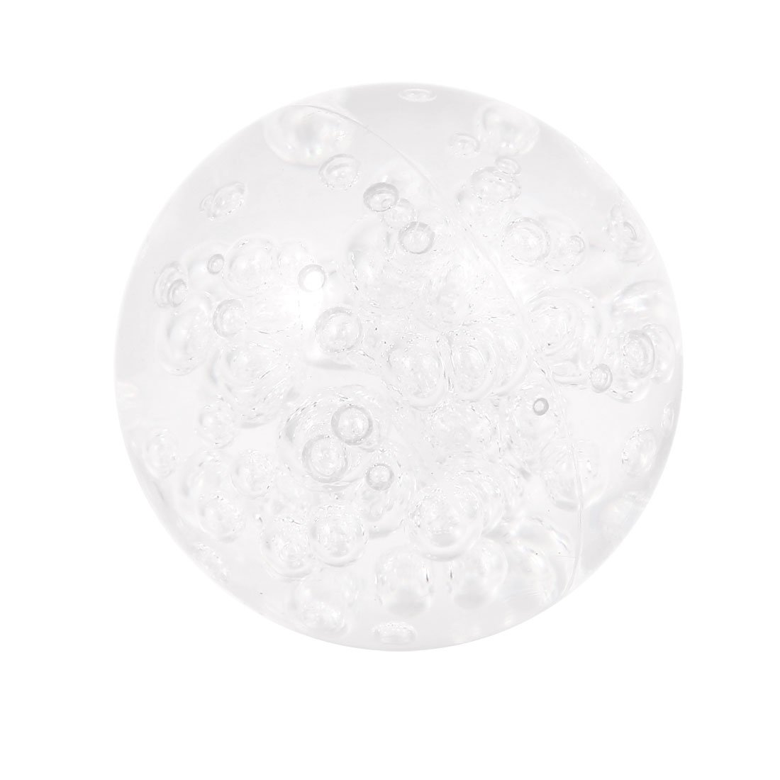 uxcell 58mm Diameter Acrylic Bubble Anti corrosion Contact Juggling Ball Clear