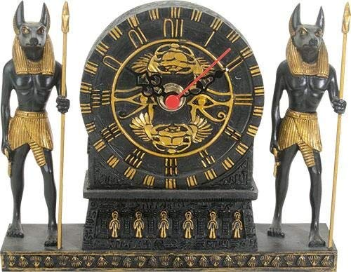 - Summit Collection Ancient Egypt Home Decor Anubis Clock