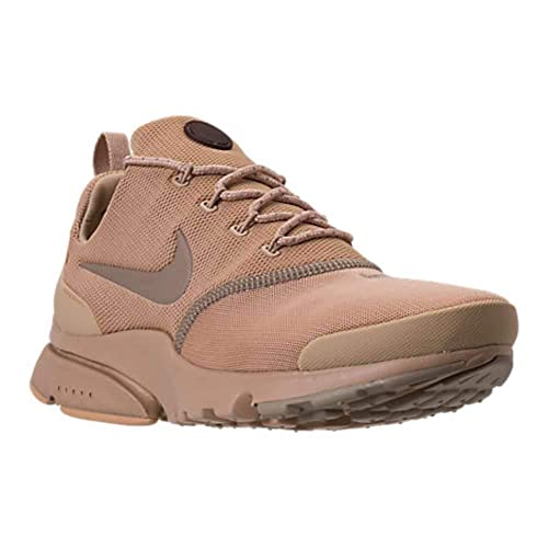 hot sale online d349f 999fc Nike Mens Presto Fly B Fabric Low Top Lace Up, Mushroom Mushroom-Khaki