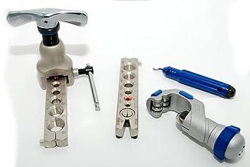 z/öllig B/ördelwerkzeug-Set WK-519FT-L mit Rohrschneider und Entgrater metrisch KFZ