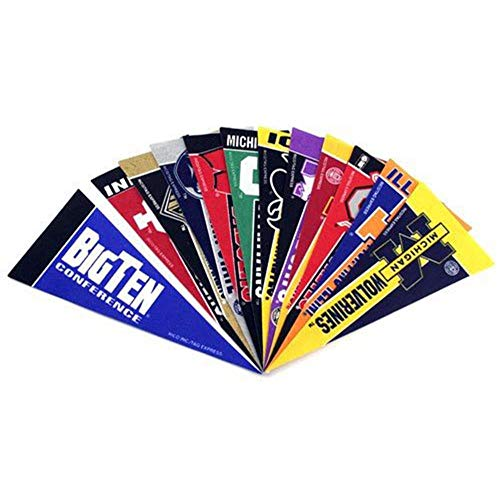 - Rico College Big 10 Mini Pennant Set