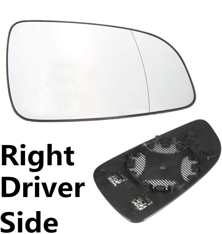 VAUXHALL ASTRA H 2004-2008 DRIVER SIDE RIGHT HAND HEATED DOOR WING MIRROR GLASS