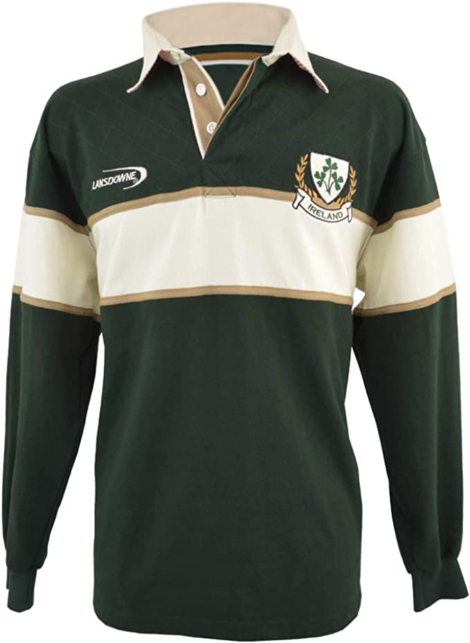 Uneek Adult Mens Long Full Sleeve Plain Classic Rugby Sports Shirt Jersey TOP