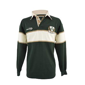 Camisa Para Hombre Del Trébol De Rugby De Manga Larga (Grande ...