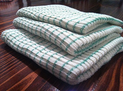 World's Best Dish Cloth (Set of 6 - Green)