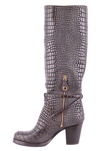 Car Shoe Women's MCBI063039O Brown Leather Boots FvNeIwe