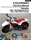 CPP-247-P Yamaha PW80 and BW80 Cyclepedia Printed Service Manual