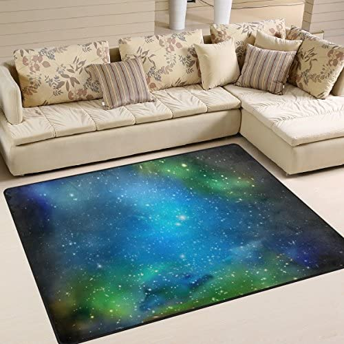 IMOBABY Triangulum Galaxy Outer Space Area Rug