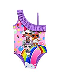 LOL Dolls Swimsuit Baby Girls Swim Bathing Suit One Piece Cartoon Swimwear