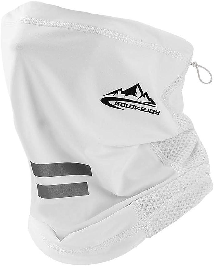 Cycling Yoga Hiking MyCozy Cooling Neck Gaiters for Men UV Summer Sport Breathable Balaclava Headwear Dust Bandana Multifunctional Outdoors Face Cover Scarf Soft Headband Sweatband for Fishing