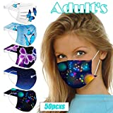 AIHOU Disposable Masks for Women, Butterfly Face