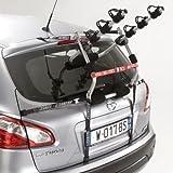 VDP Biki Fahrradtr/äger kompatibel mit Renault Zoe ab 2013 Hecktr/äger 3 Fahrr/äder