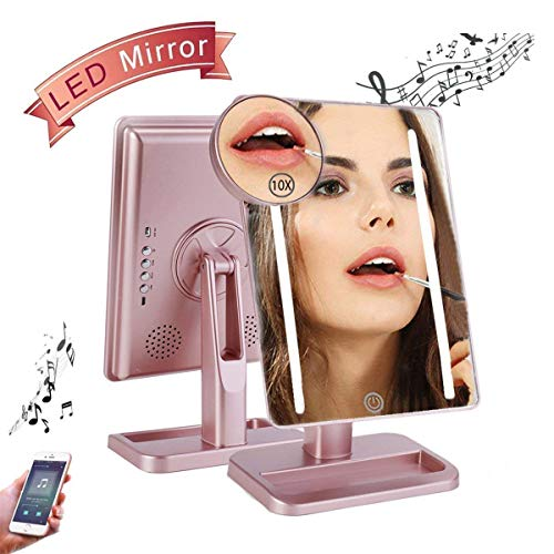 Makeup Mirror with Bluetooth