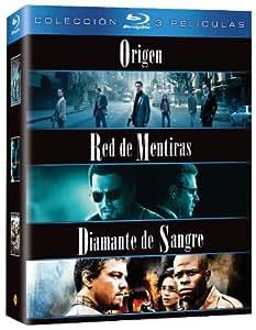 Pack: Origen + Red De Mentiras + Diamante De Sangre [Blu-ray]