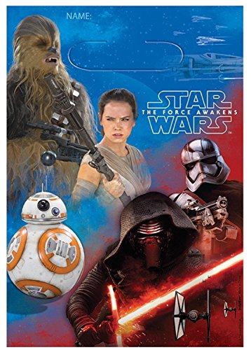 (American Greetings Star Wars Episode VII Treat Bags, 8-Count)