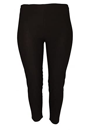 Magna Fashion Women S Solid Basic Leggings Plus Size At Amazon