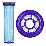 CAM-ULATA Filters Replacement Compatible with Dyson Upright Vacuum DC41 DC65 DC66 Replace Parts # 920769-01 & 920640-01 HEPA & Pre Filter Kit Dyson Animal/Multi Floor/Ball Allergy Filter