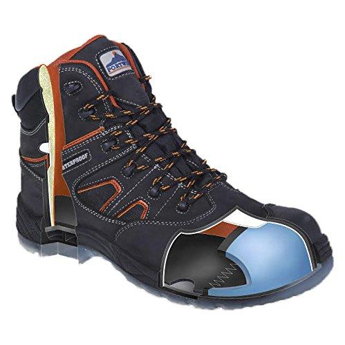 S3 Sãcuritã Montantes Noir Compositelite Tous Wr Brodequin Chaussures De Portwest Temps q1S700